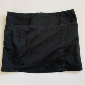 Black Express mini skirt size 10